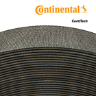 "7"" Wide 3-Ply Mini Rough Top G310 Bulk Roll Baler Belt (per Foot)"